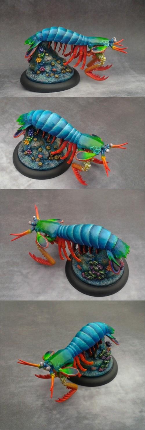 Giant Mantis Shrimp (Deepwars - Antimatter-Games)
