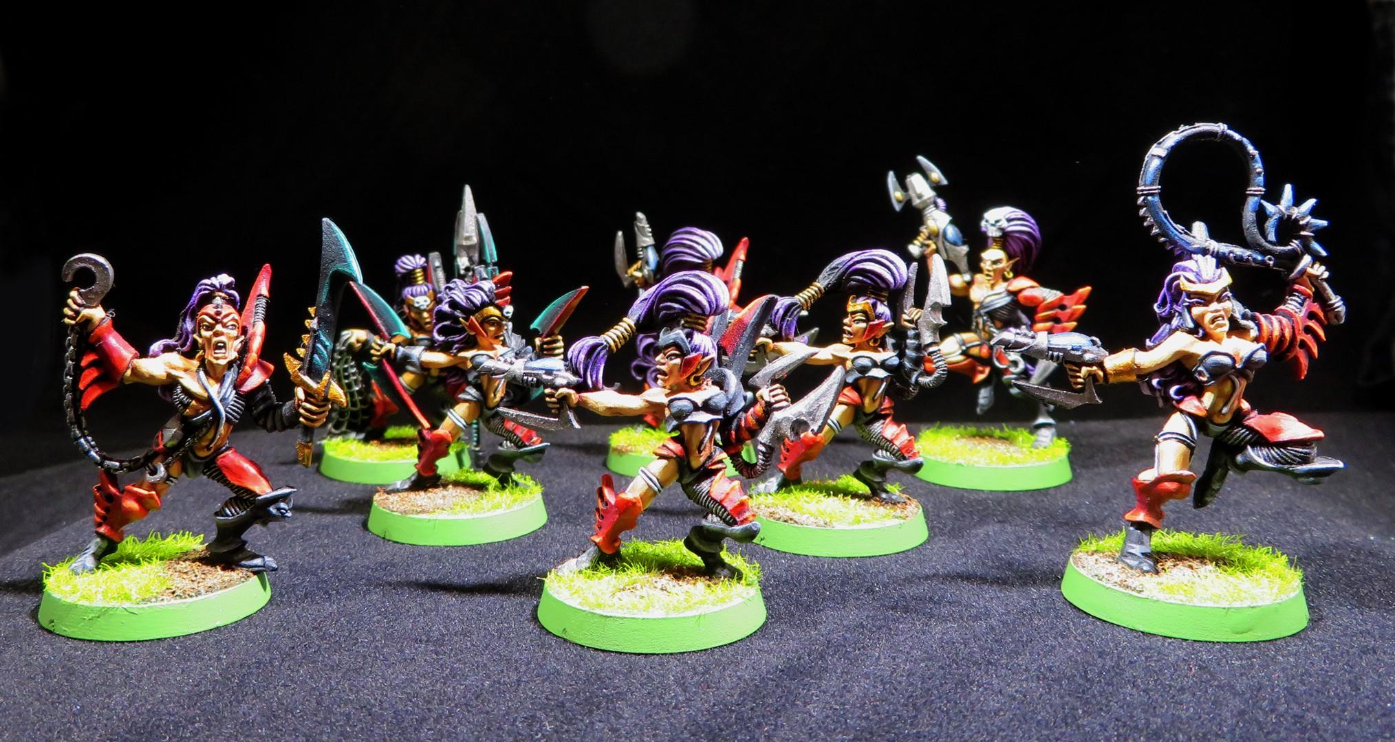 Dark Eldar Wych Squad