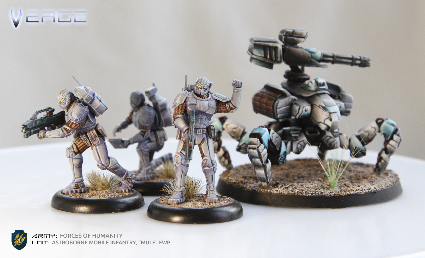 "Astroborne Infantry Squad with ""Mule"" FWP"
