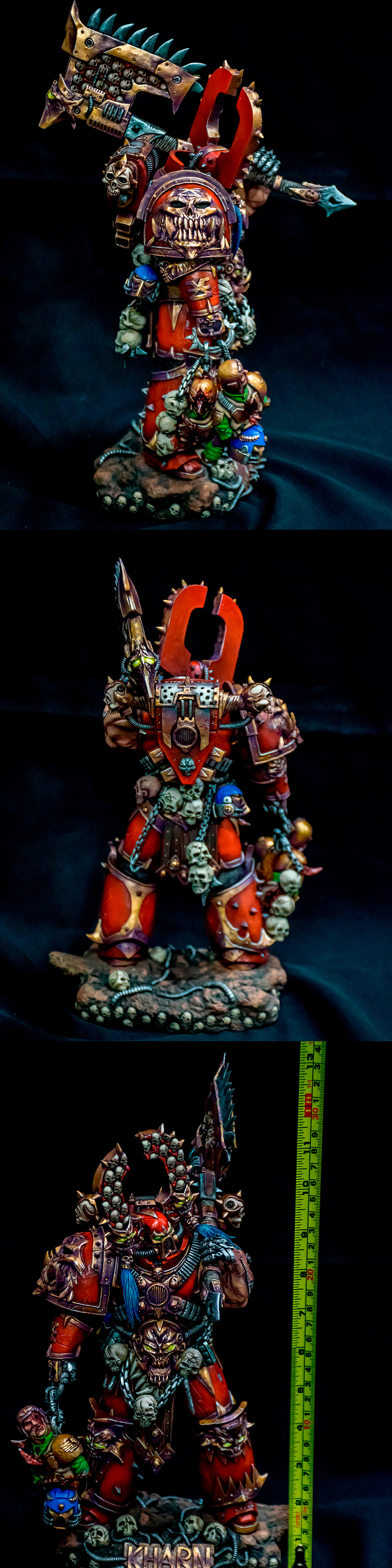 Kharn the Betrayer Large Scale 33 cm