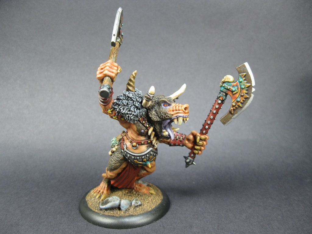 Doom Bull Minotar lord