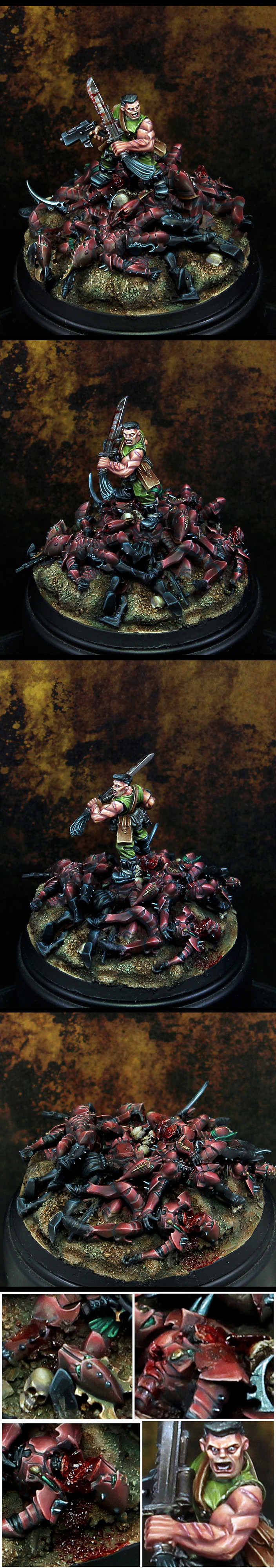 Sly marbo and the pile of corpses