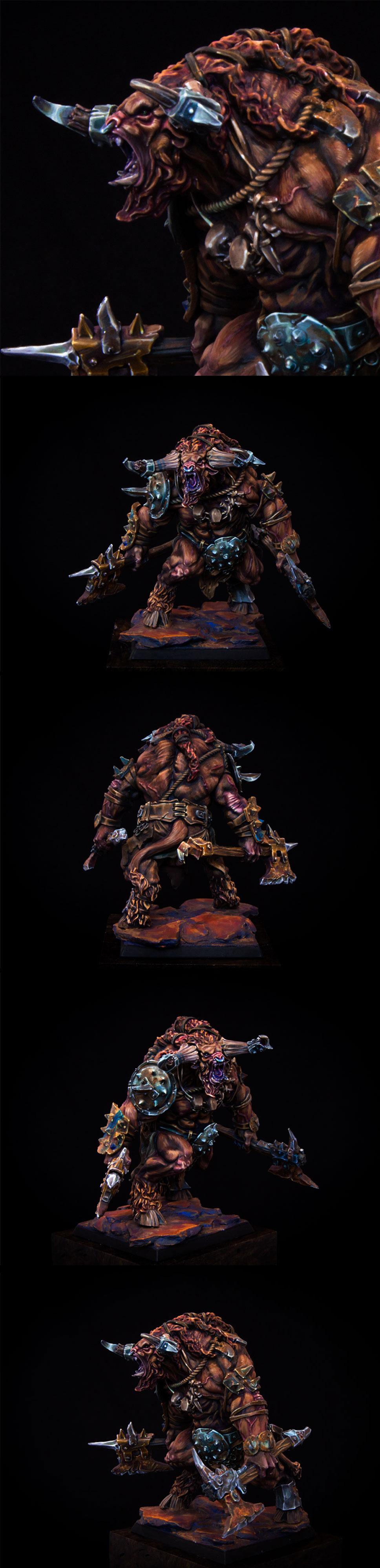 Minotaur Berserker - Zealot Miniatures Boxart