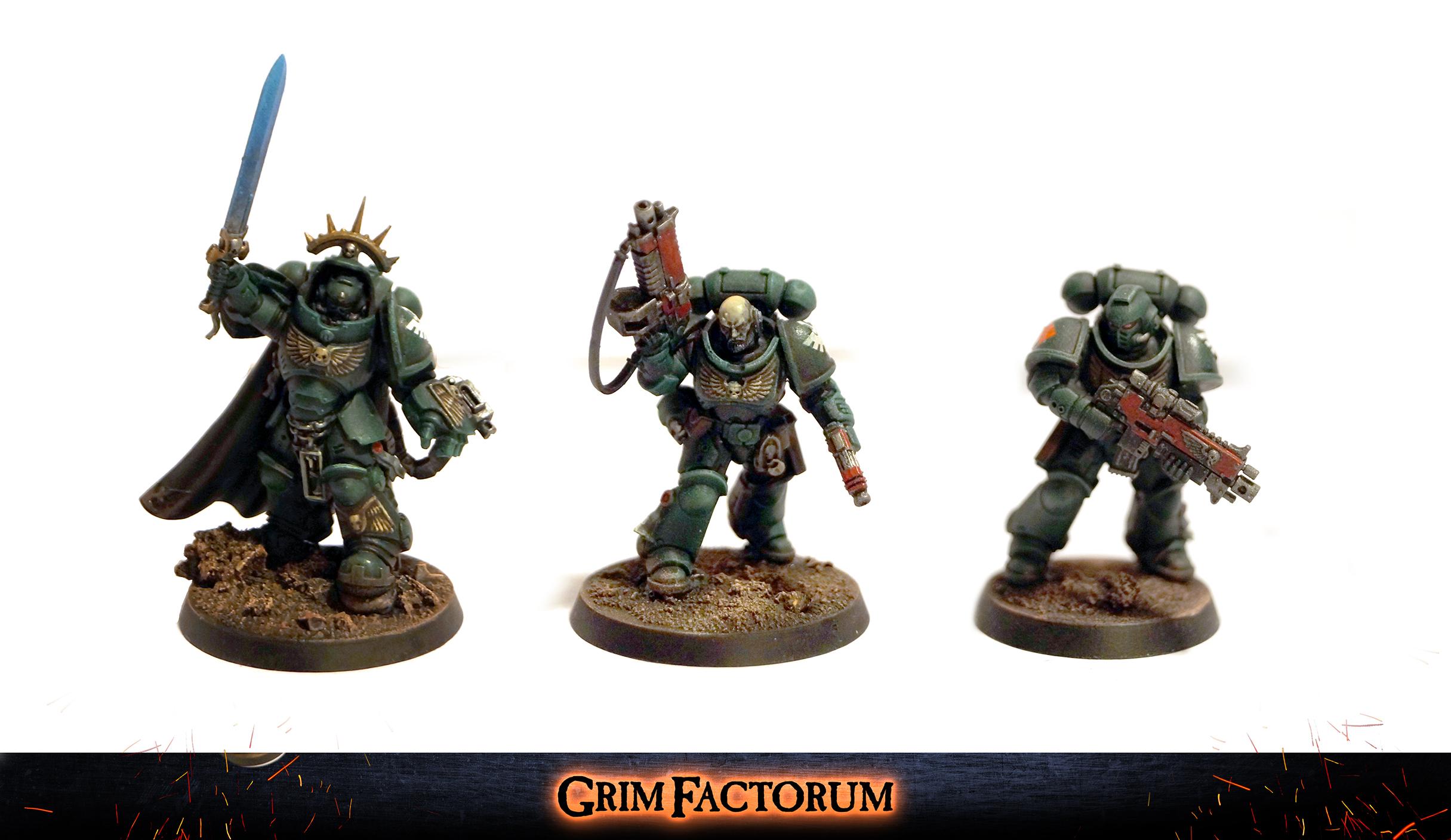 Dark Angels Space Marines Primaris Characters