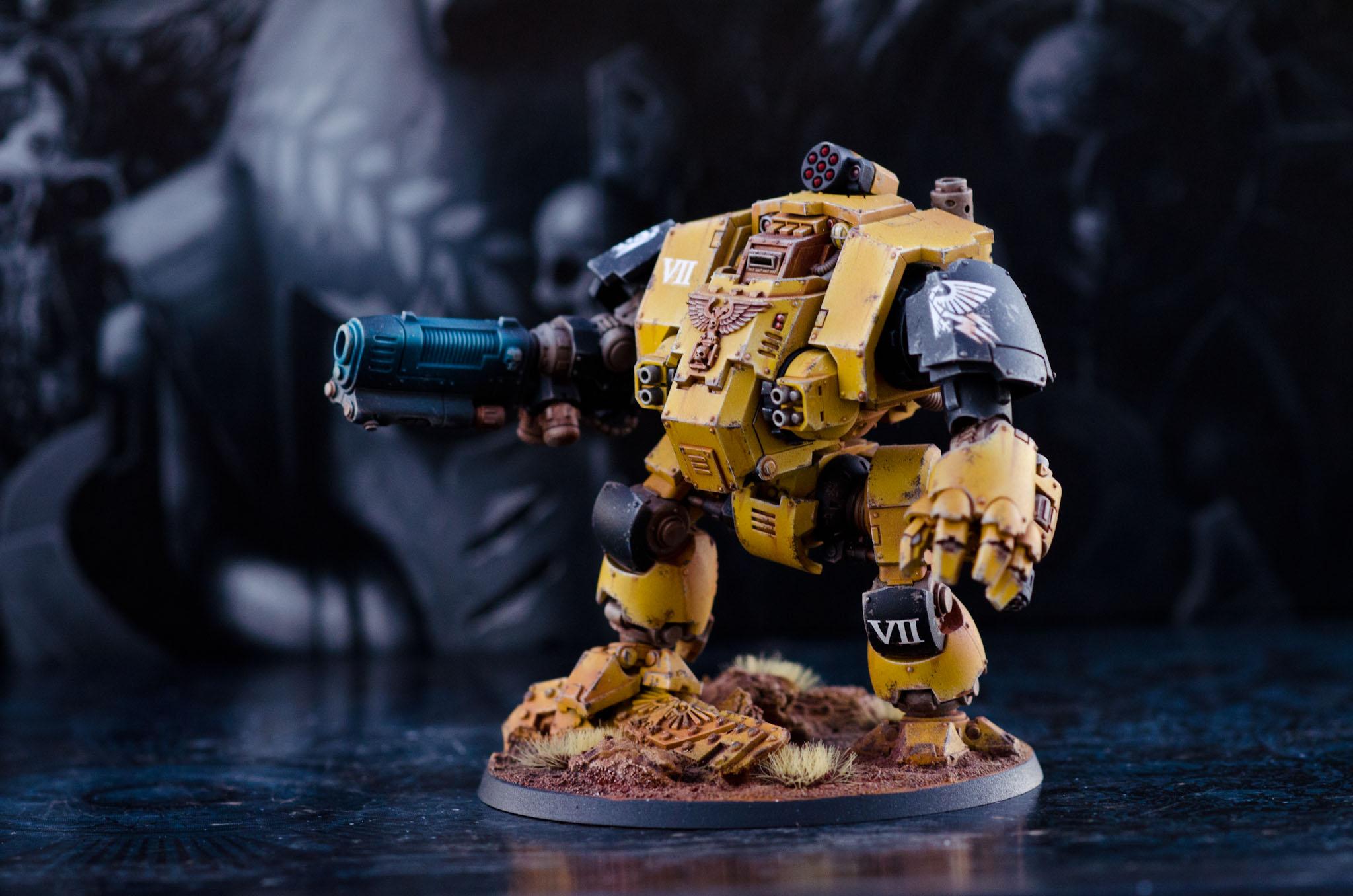 Imperial fist Primaris redemptor dreadnought