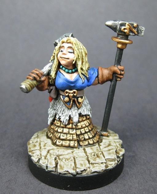 03835: Dwarf Forge Priestess