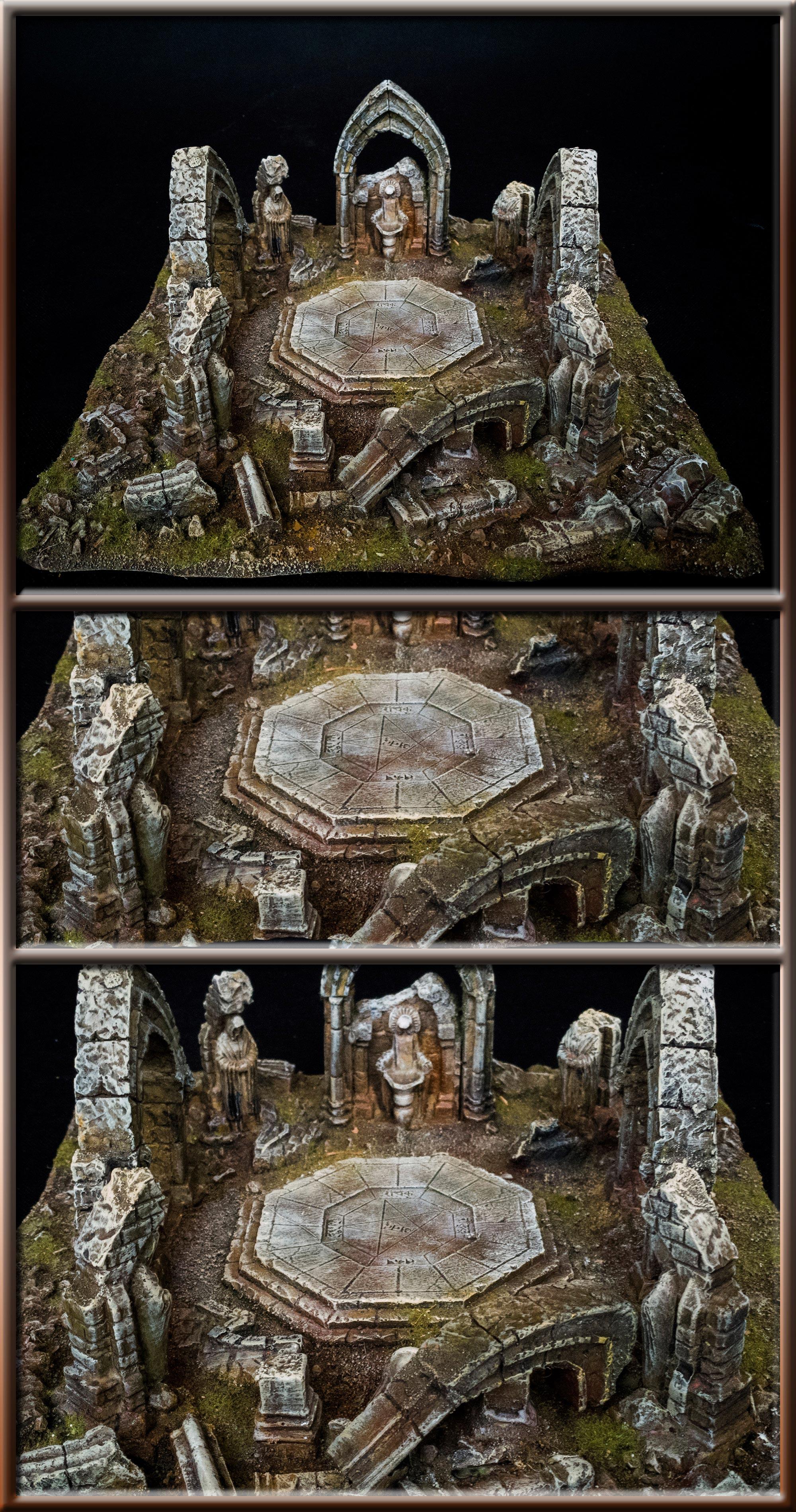RUINS OF THE MAUSOLEUM