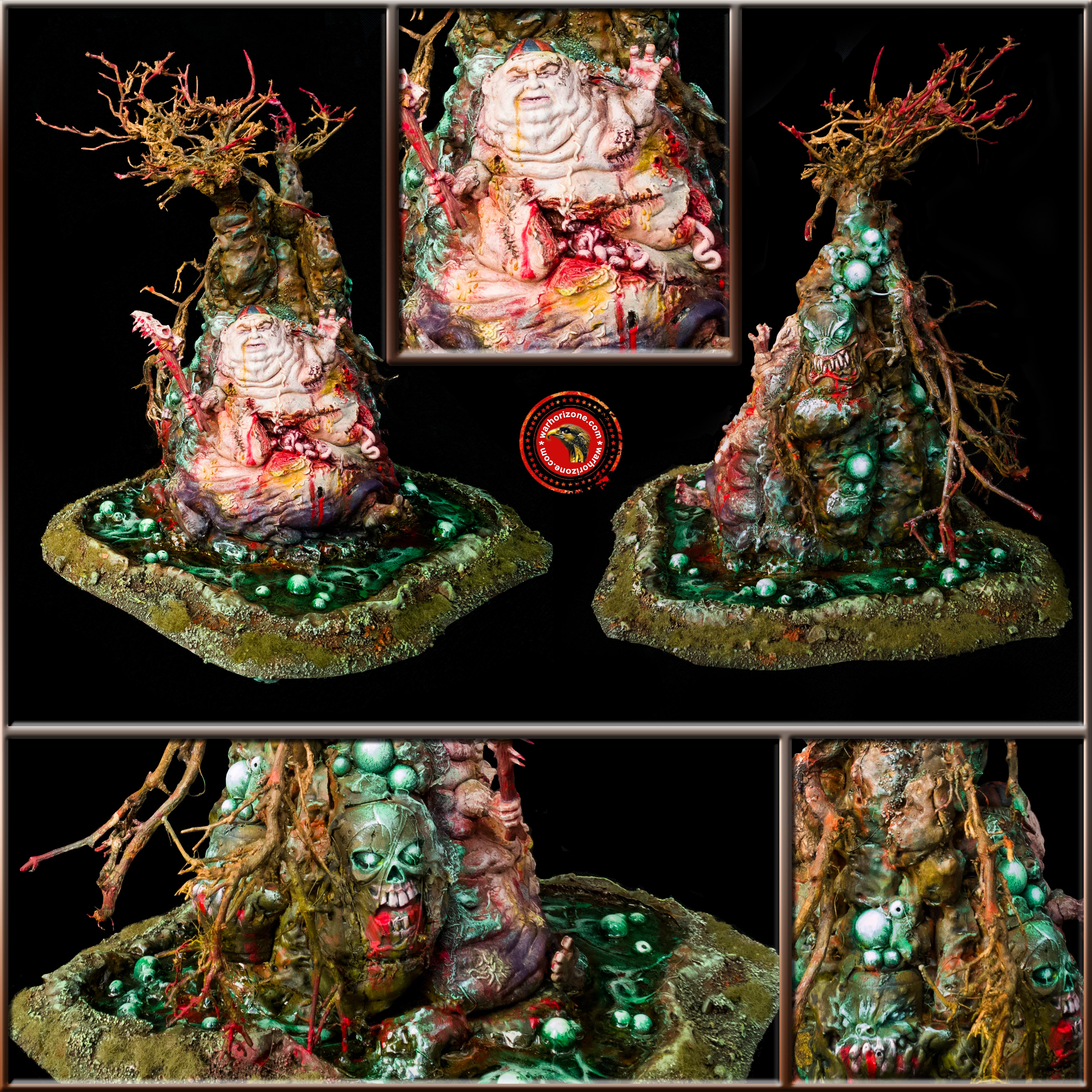 GREAT UNCLEAN MONSTER TREE