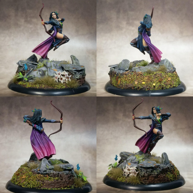 Dark Sword Miniatures Female Ranger