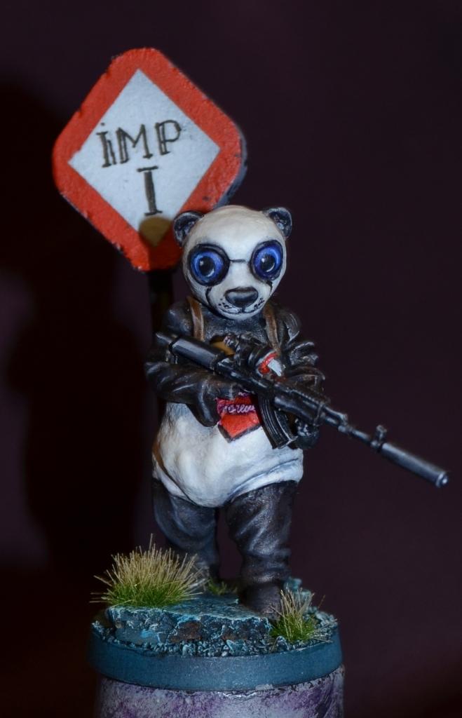 Panda Man.