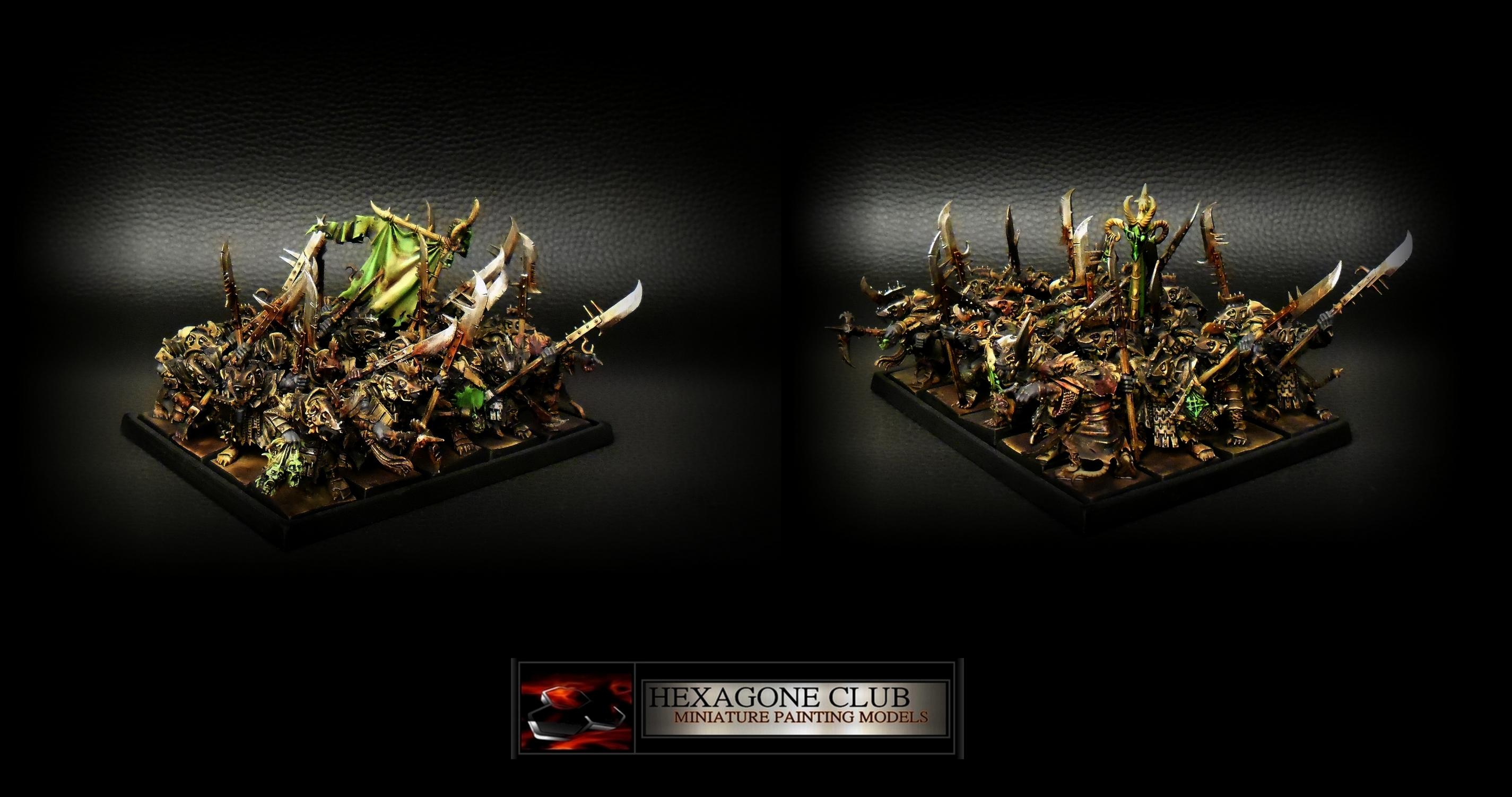 Warhammer Skavens Vermines De Choc .