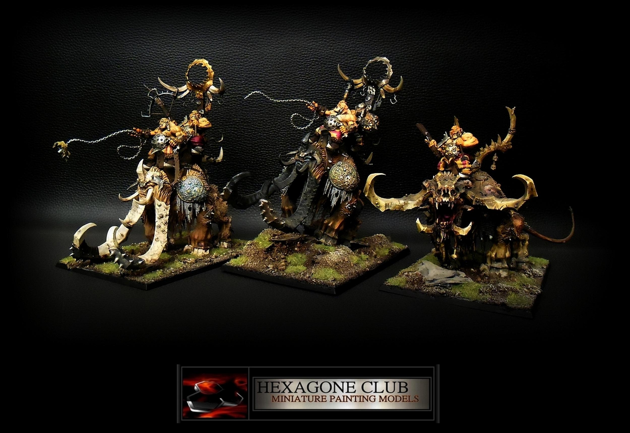 Warhammer Ogres Kingdoms Beastclaw Raiders .