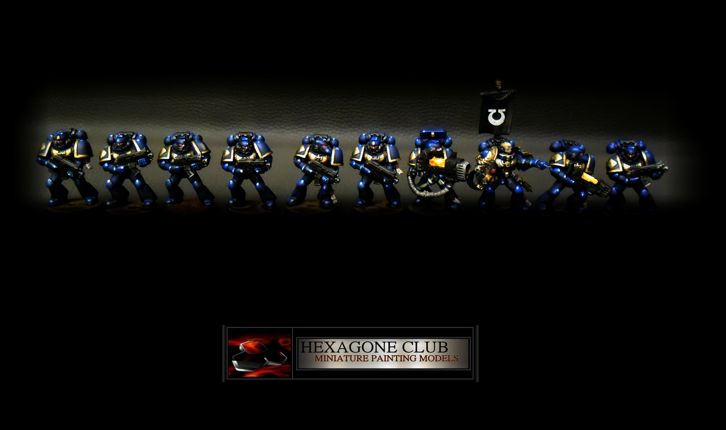 Warhammer 40.000 Space Marines Ultramarines Tactical Squad .