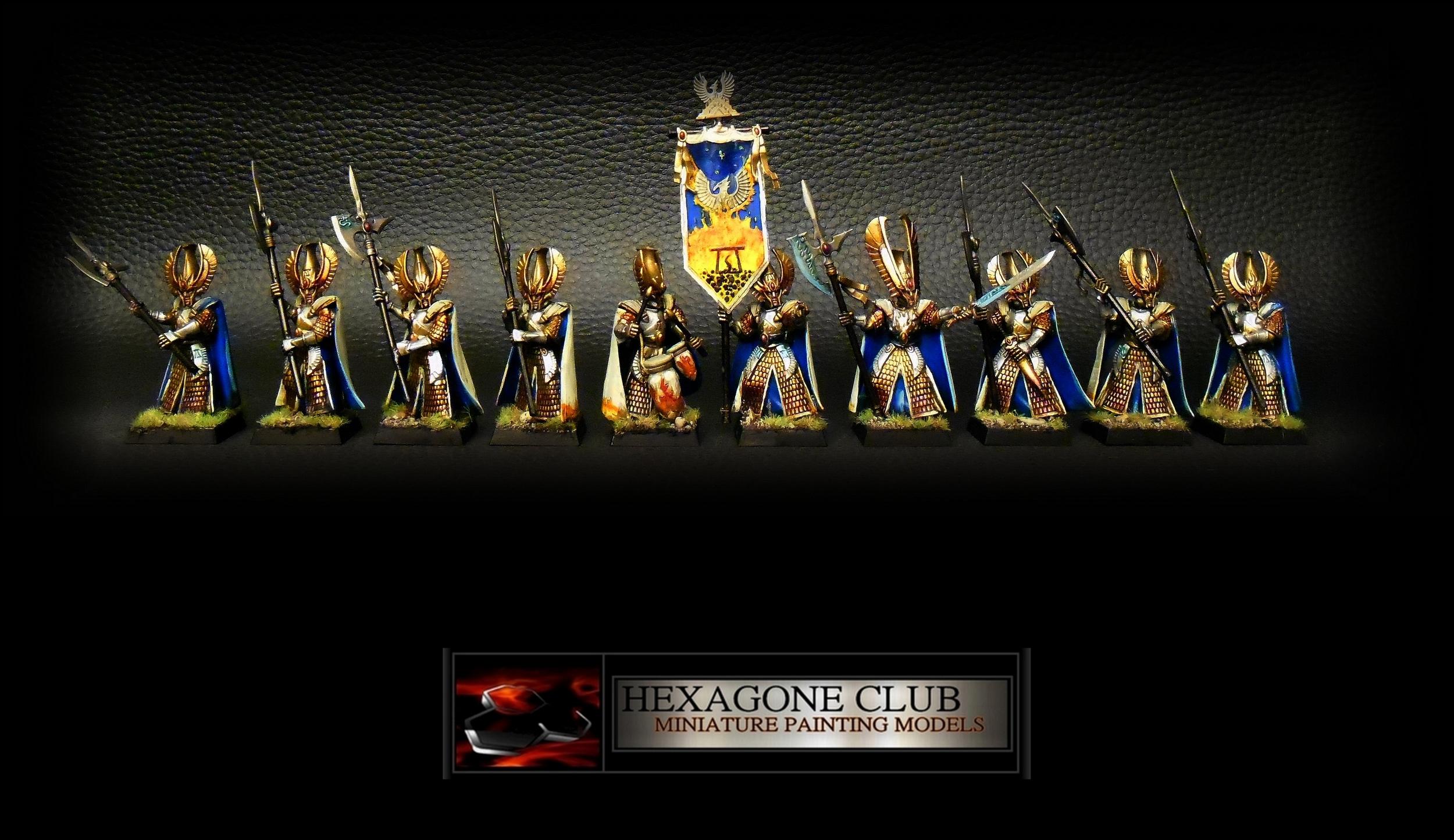 Warhammer Hauts Elfes Gardes Phénix .