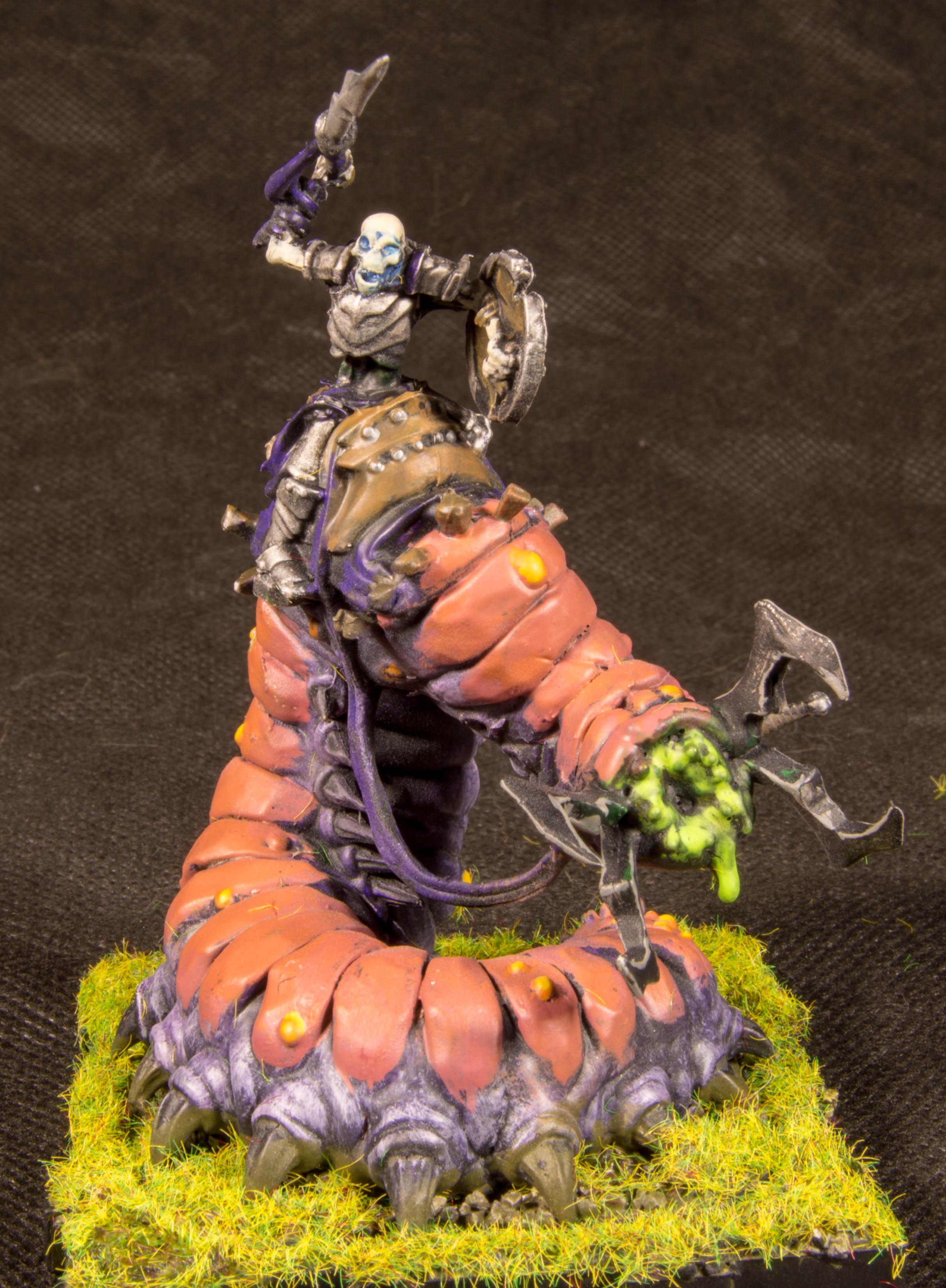 Runewars worm Knight