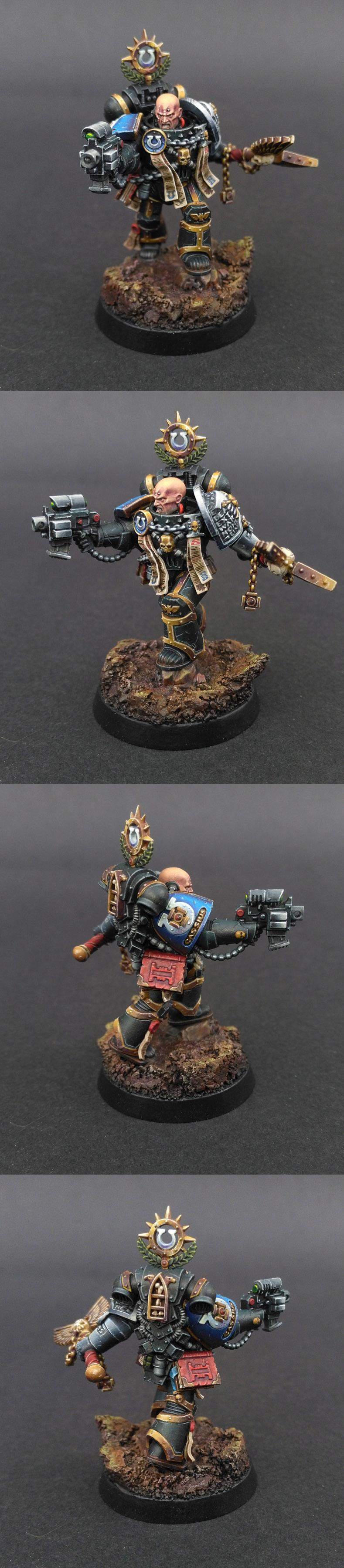 Ortan Cassius - Deathwatch Chaplain