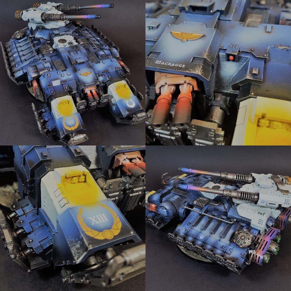Ultramarines Astraeus Super Heavy Tank