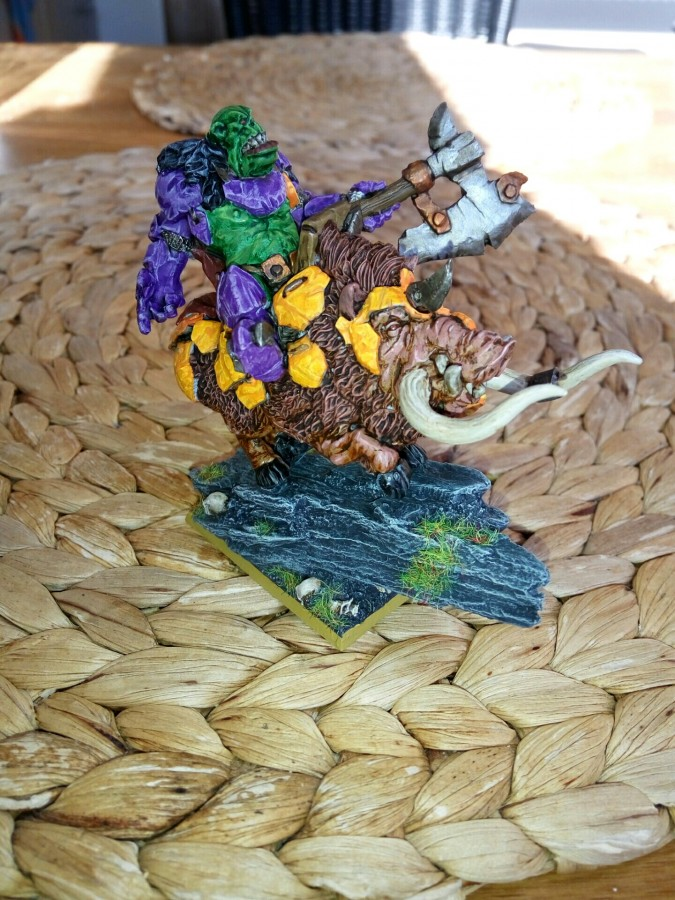 Scibor - Orc Chief on War Boar