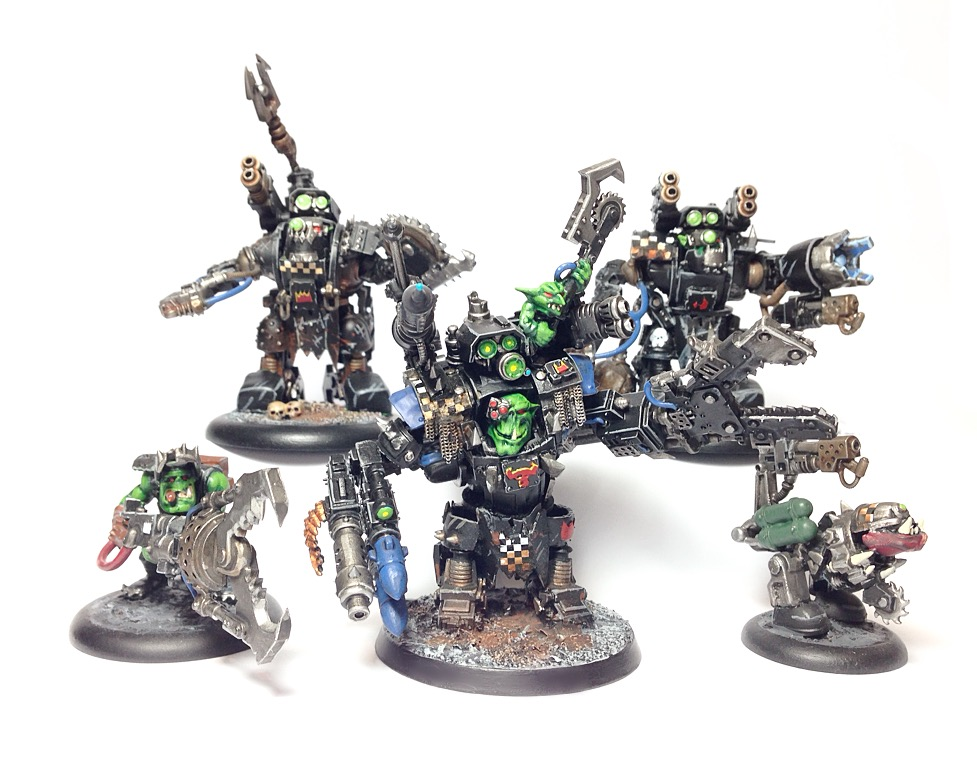 Warhammer 40k Boss Mek and Crew