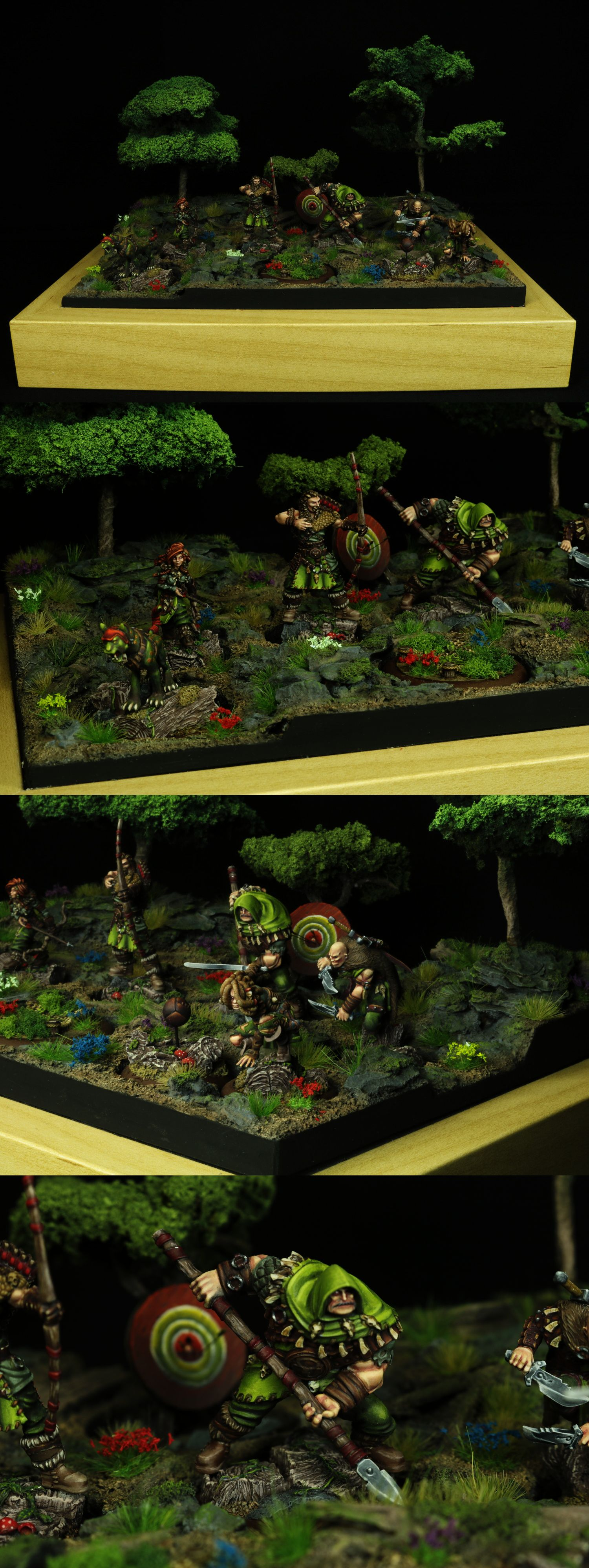 Hunter - Guild Ball diorama