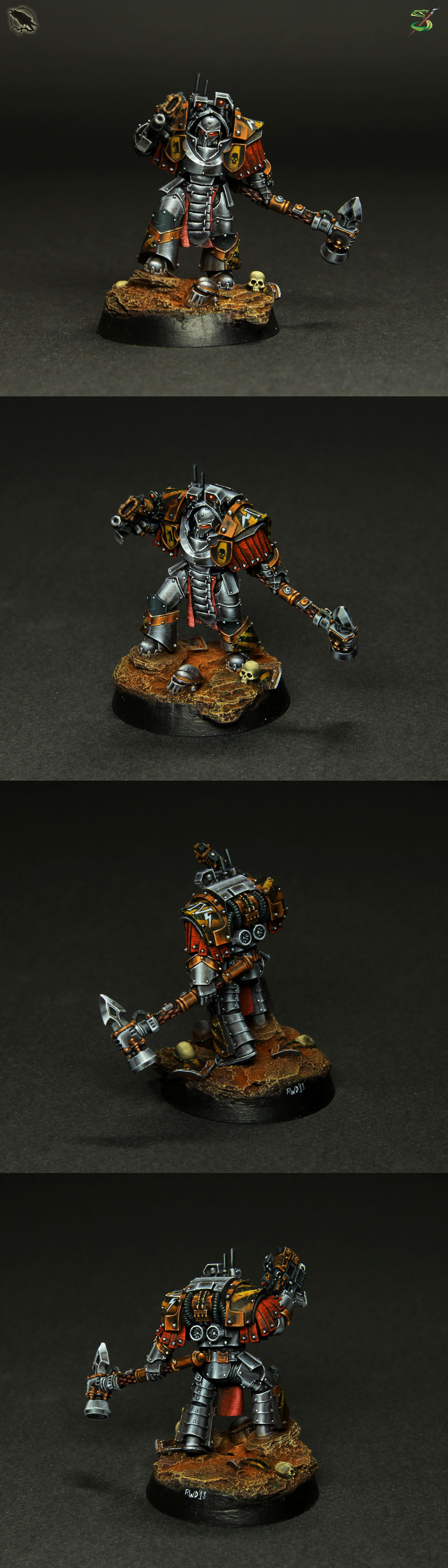 Iron Warriors Praetor