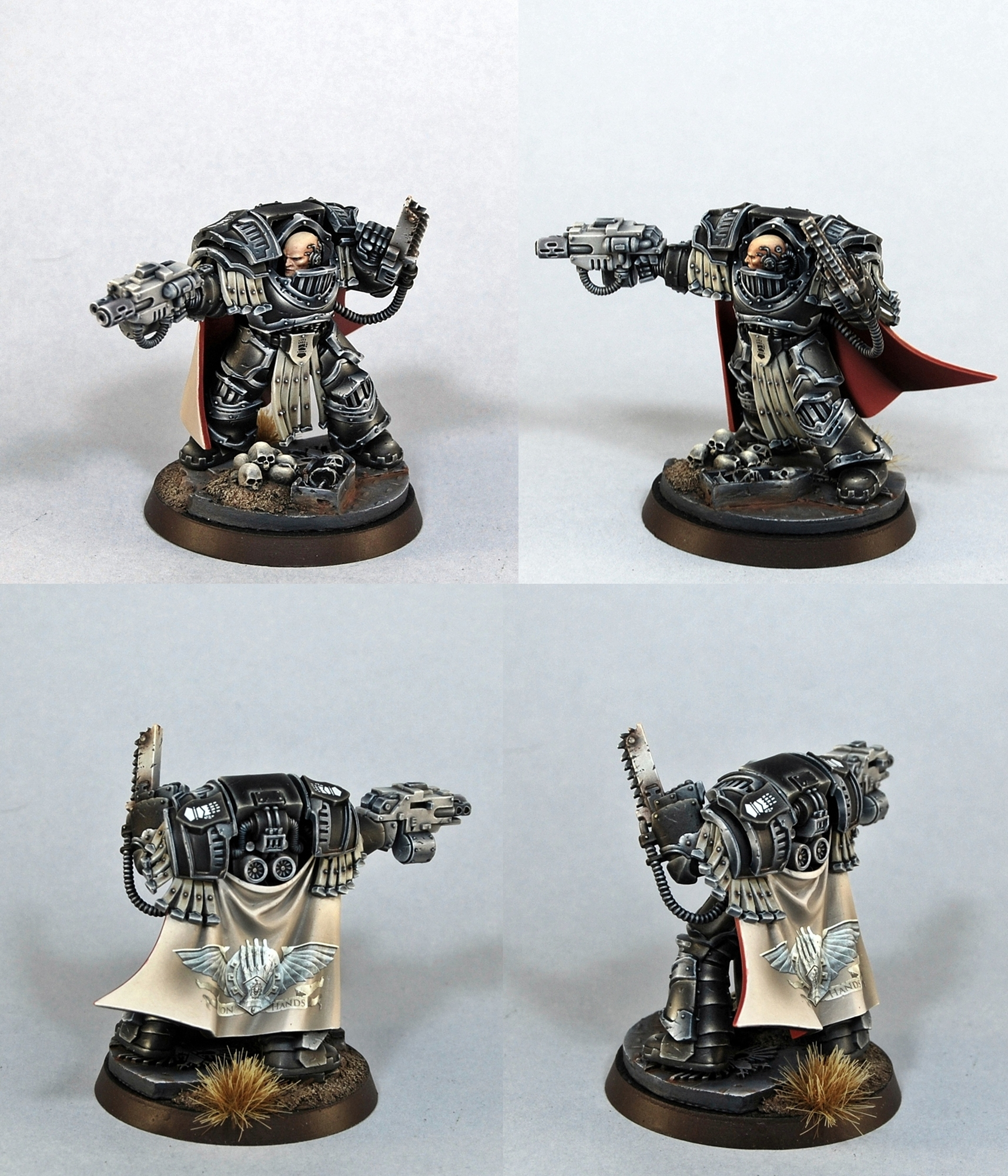 Iron Hands terminator captain