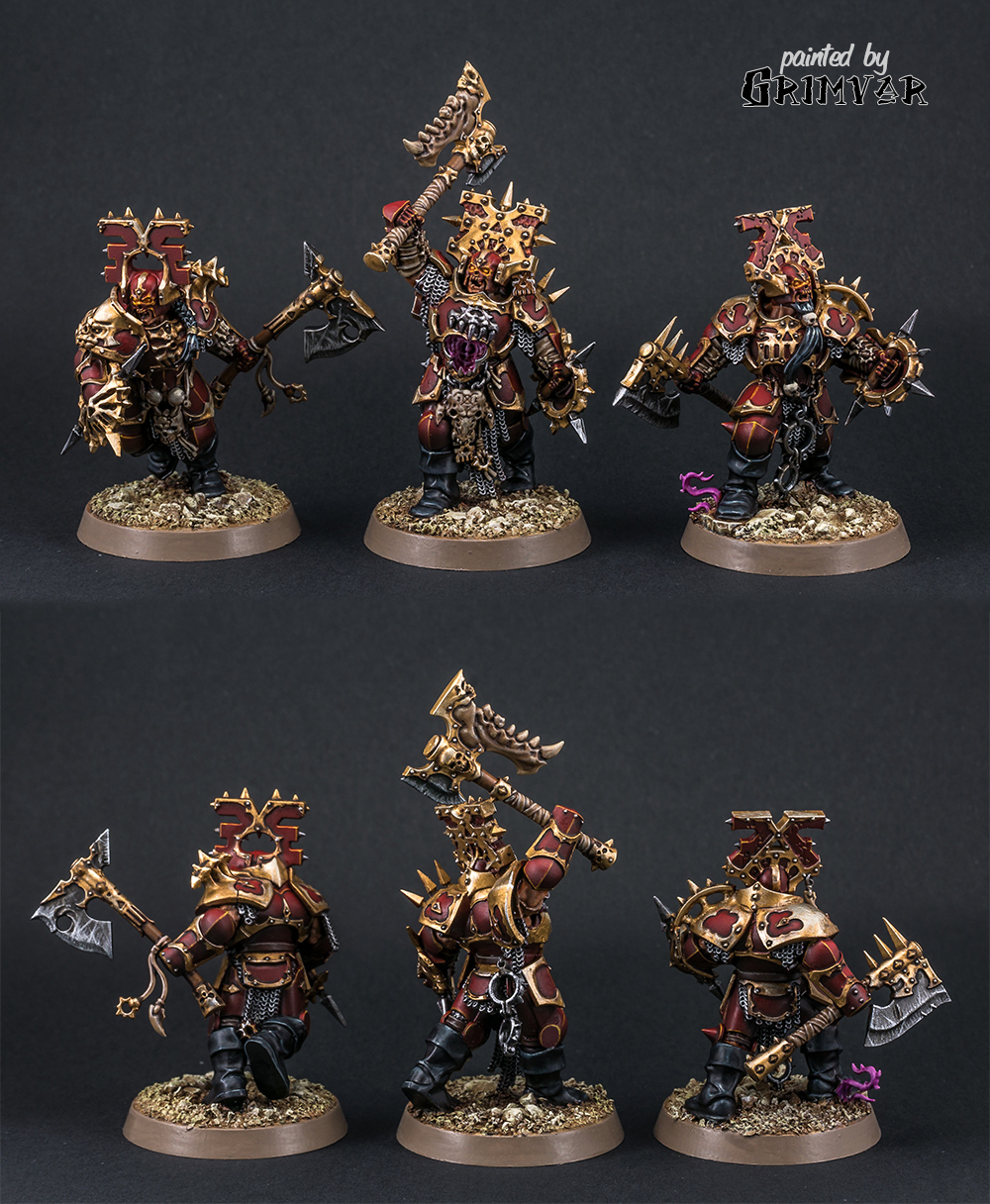Storm of Sigmar Blood Warriors