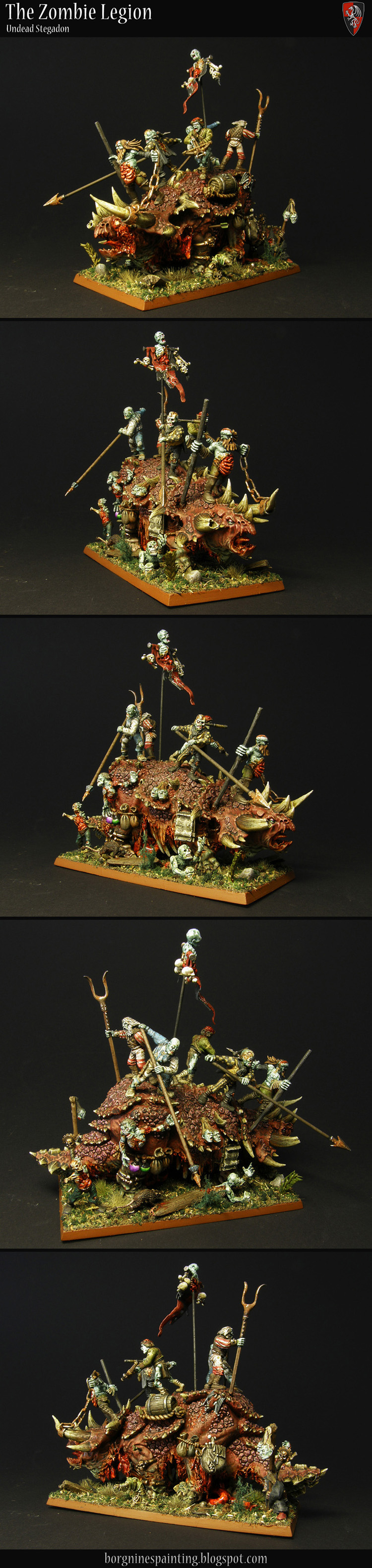 Undead Stegadon / Zombie Filler