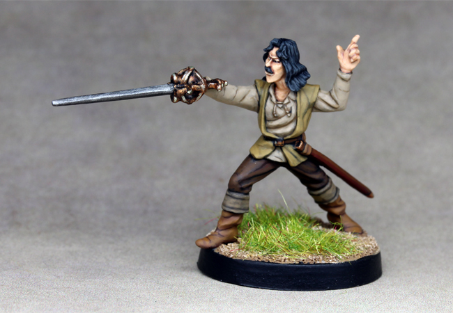 Inigo Montoya from the Princess Bride film.