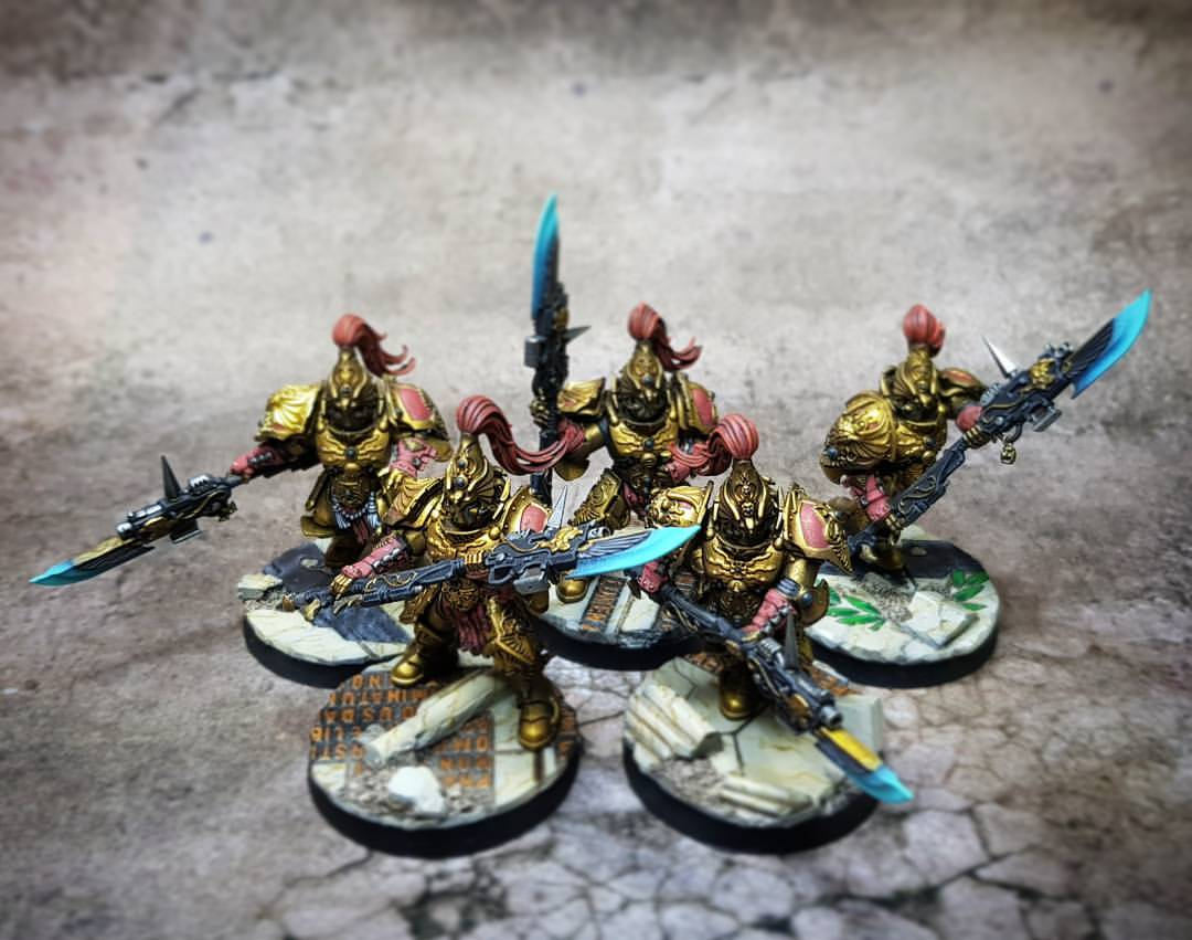 Custodian Guard with Guardian Spears