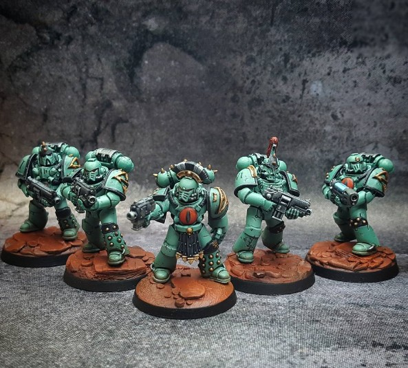 Sons of Horus Tactical Squad