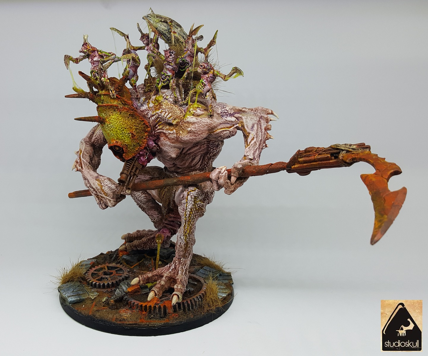GREATER DAEMON OF NURGLE-KU' GATH-THE PARTY OF SEVEN BROTHERS