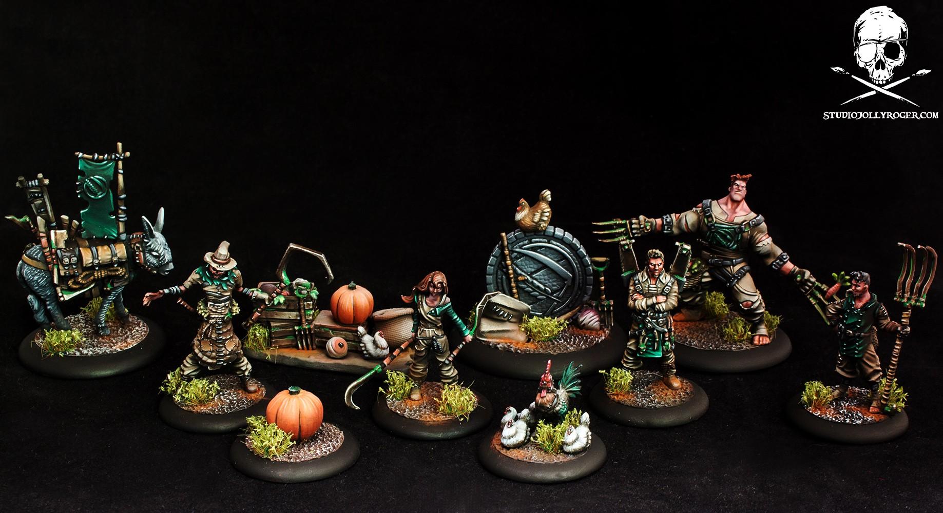 Guild Ball Farmer's Team
