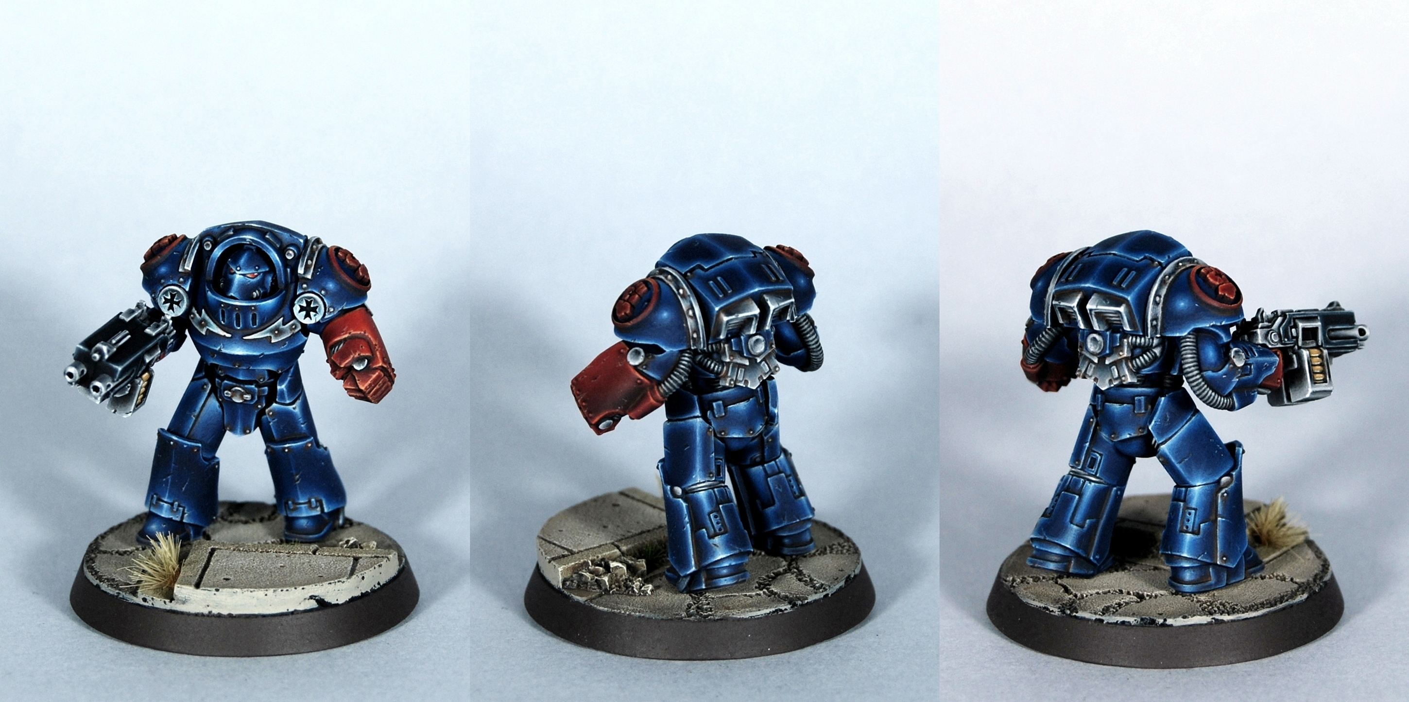 Space Marines Crimson Fists Tartaros Terminator
