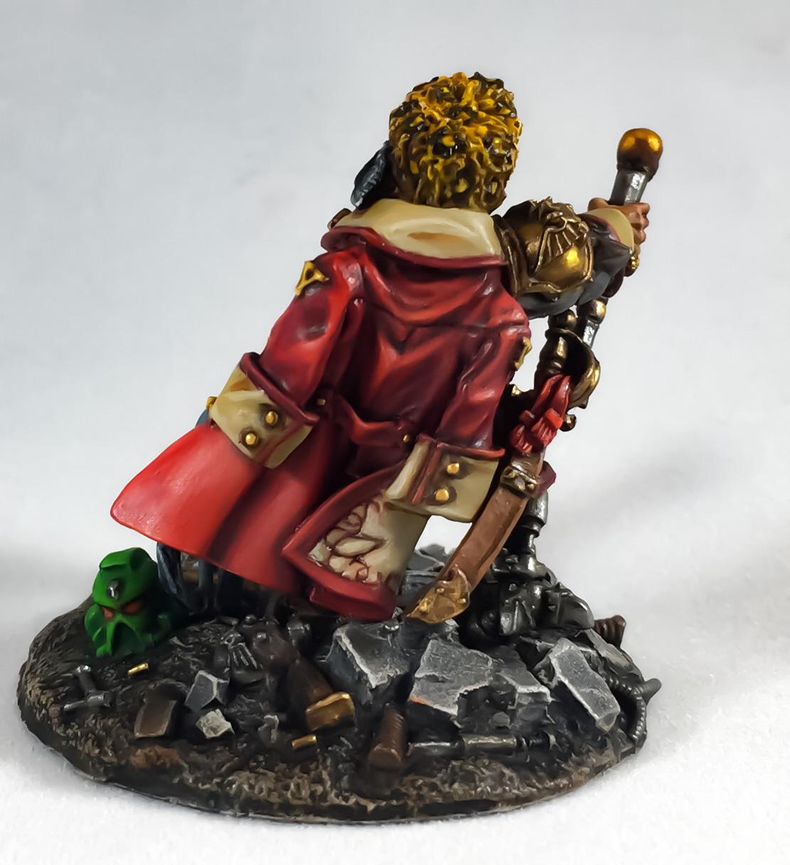Vostroyan Commander with Gyrinx
