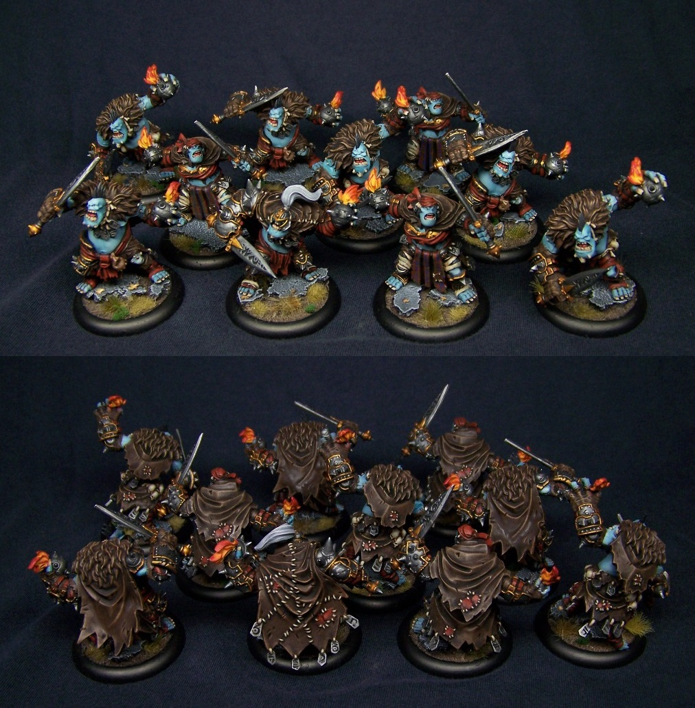 Northkin Trolls form Trollblood