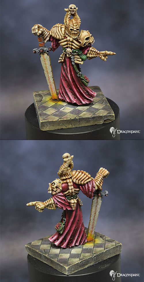 Vintage Chaos Warrior with bone armour 1