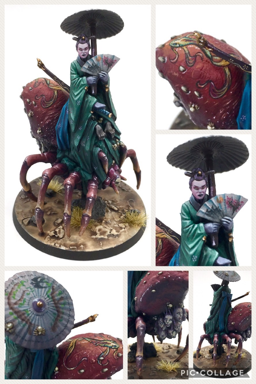 Jorogumo from the Rising Sun Kickstarter