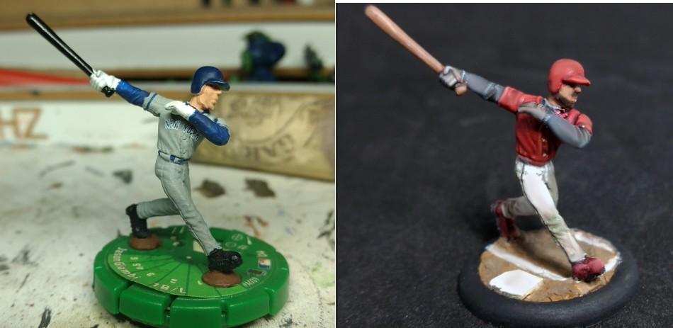 SportsClix Repaint - Baseball Slugger