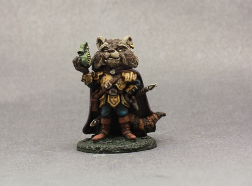 Dark Sword Raccon Thief