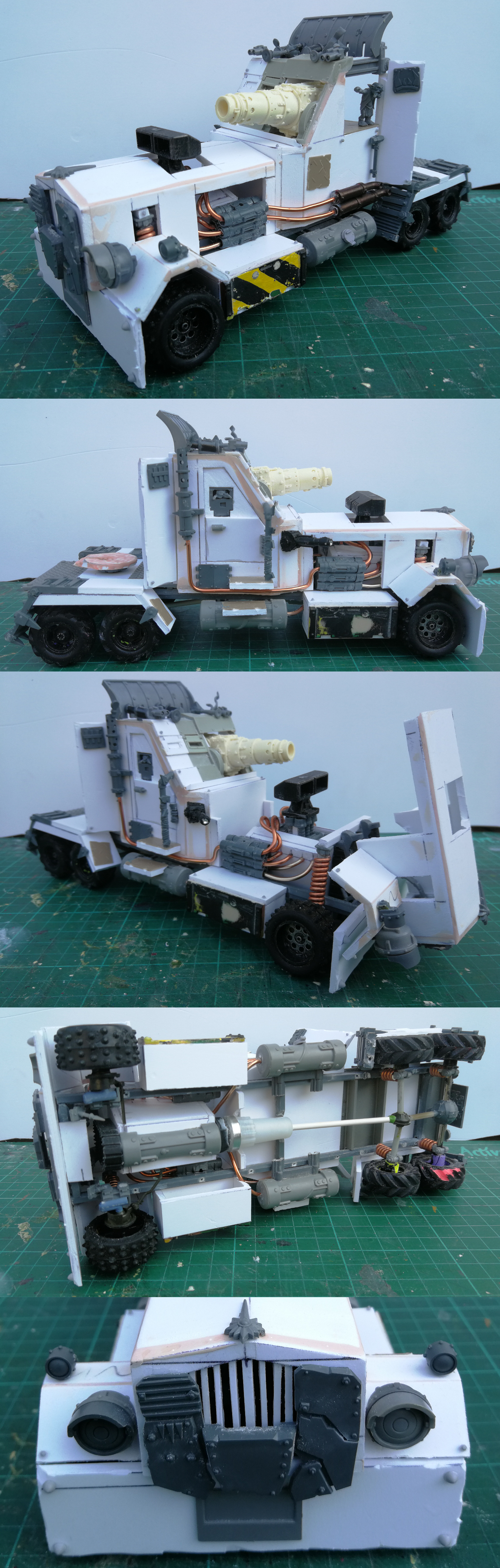 WIP Ork Battlewagon (Semi Truck)