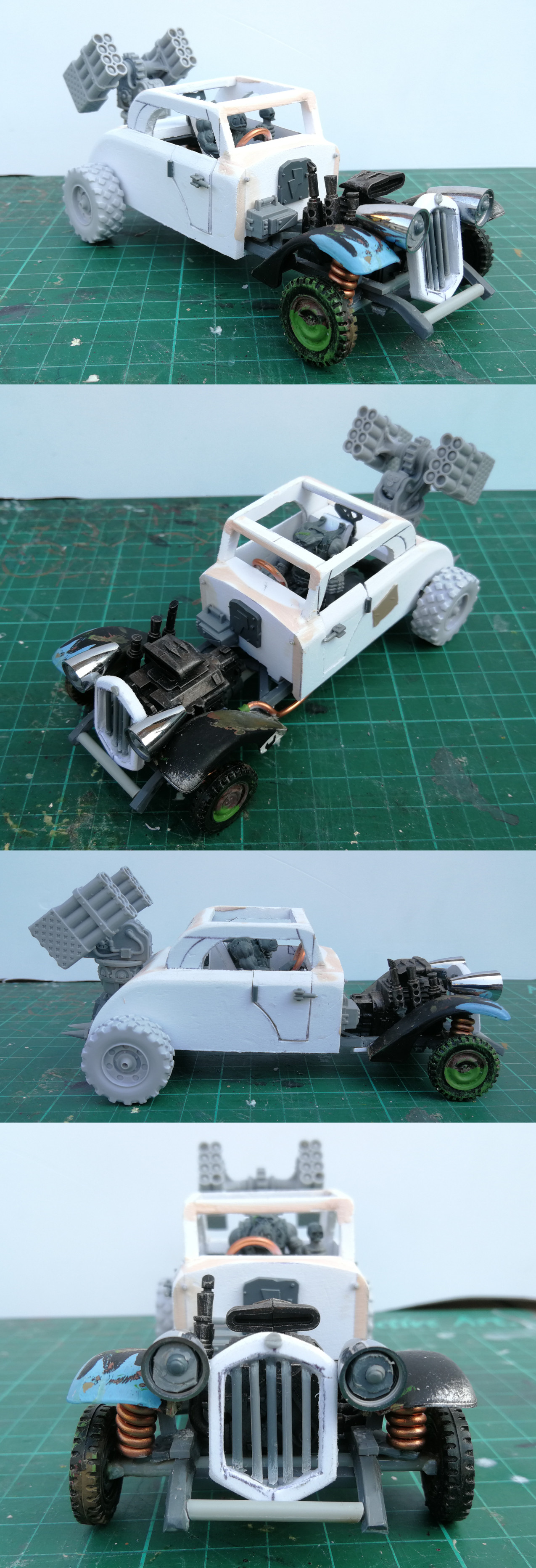 WIP Ork Warbuggy (Coupe)