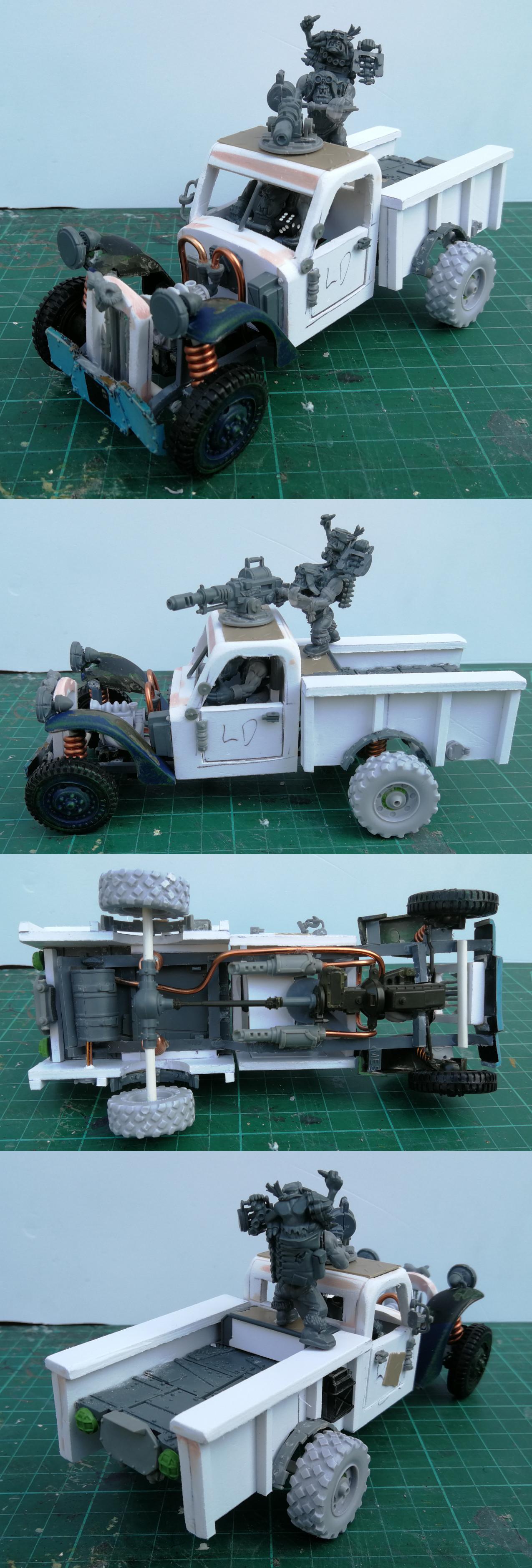 WIP Ork Trukk (Power Wagon)