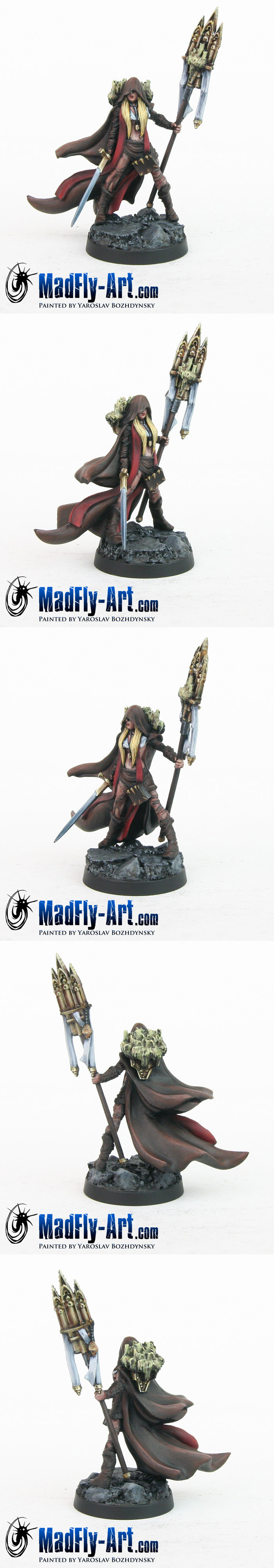 Zaraya, Pilgrim Priestess