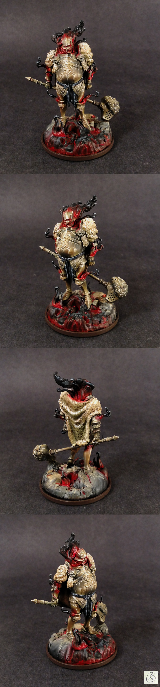 Kingdom Death, Gold Smoke Knight