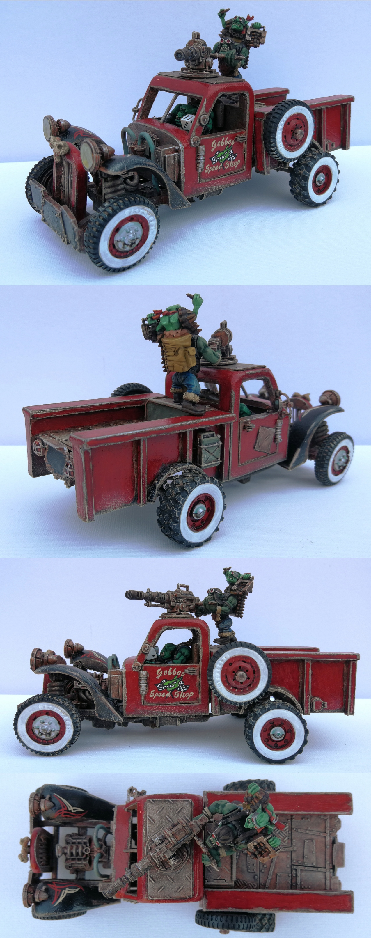 Ork Trukk (Power Wagon)