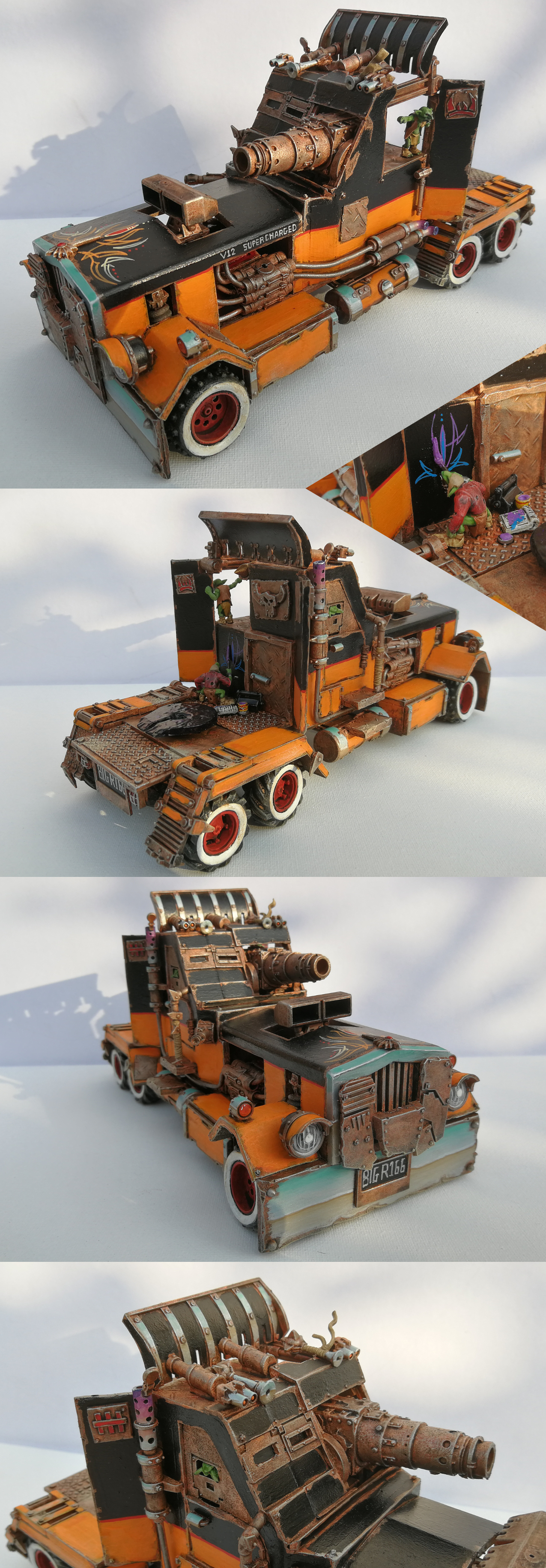 Ork Battlewagon (Semi Truck)