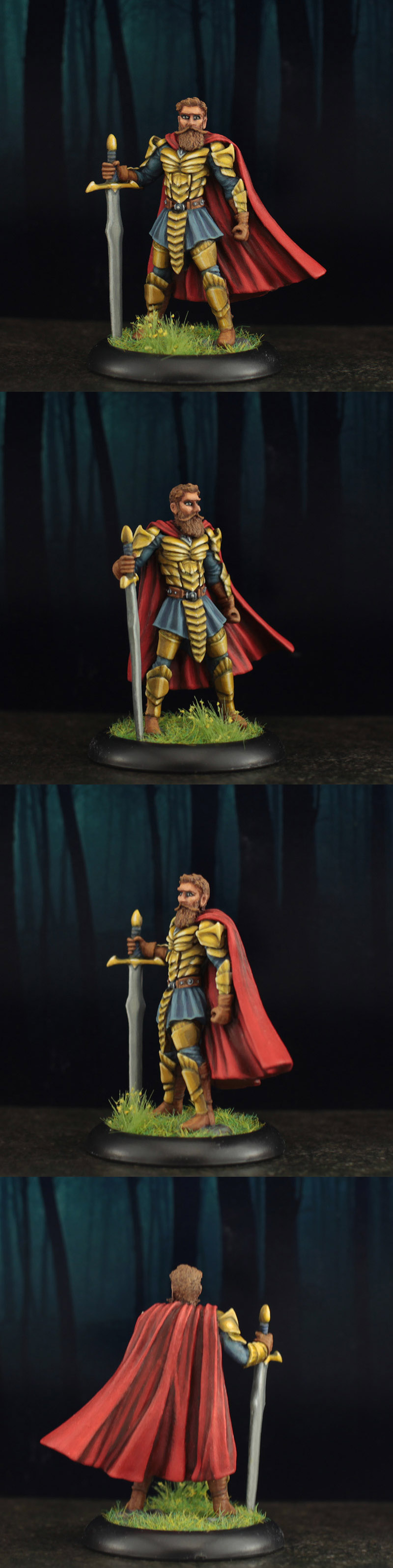 Male Warrior with Greatsword