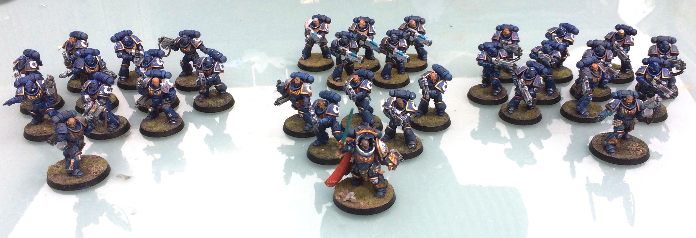 Ultramarines Primaris infantry