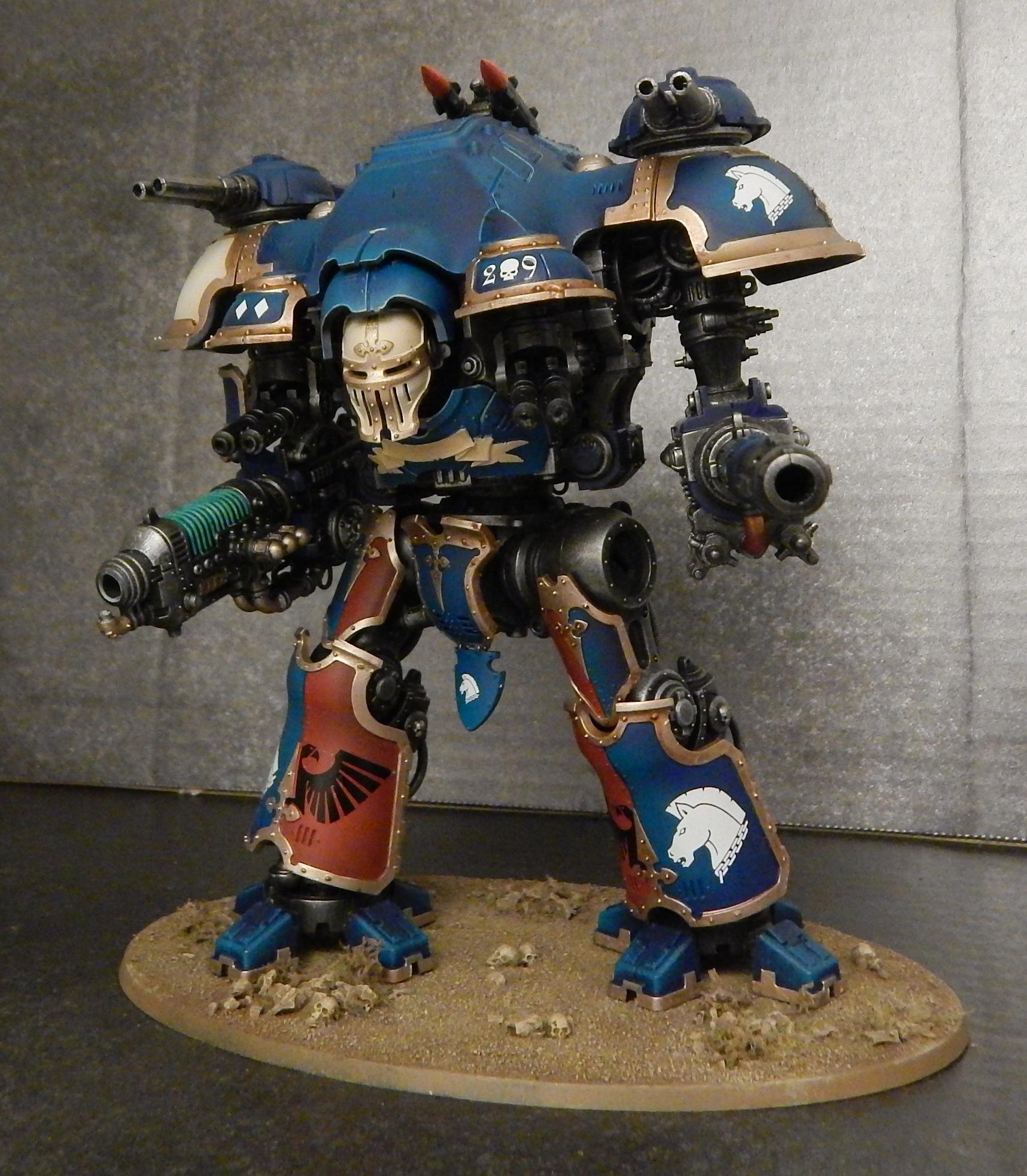 40K Imperial Knight Castellan - House Terryn